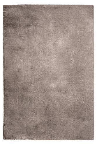 Fabelia Alfombra (micropoliéster, 160 x 230 cm), color gris