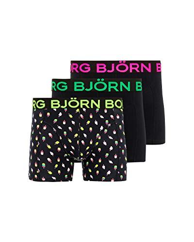 Björn Borg Core - Calzoncillos Tipo bóxer para Hombre (3 Unidades)