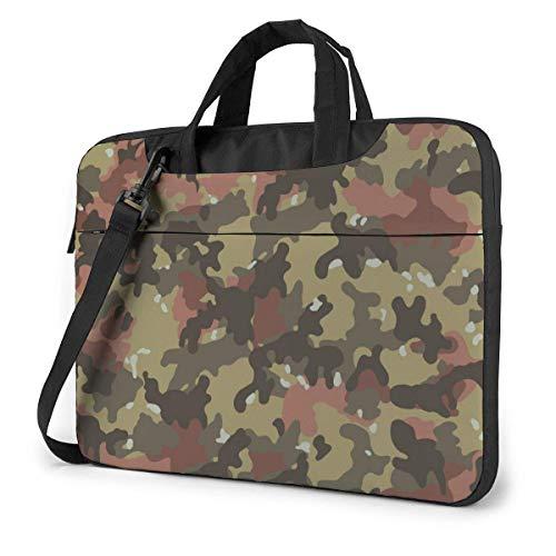 IUBBKI Laptop Case Computer Bag Sleeve Cover Camouflage Color Waterproof Shoulder Briefcase 13 14 15.6 Inch