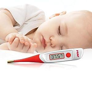 Termometro digitale con puntale morbido