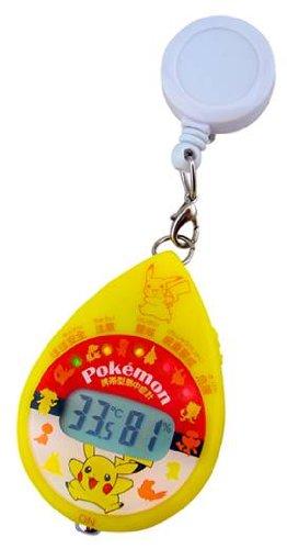 ポケットモンスター 携帯型熱中症計 ストラップ付き 【日本気象協会監修】