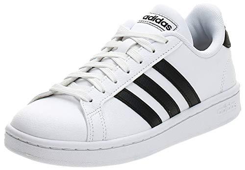 adidas Grand Court, Scarpe da Fitness Donna, Bianco (Ftwbla/Negbás/Ftwbla 000), 39 1/3 EU