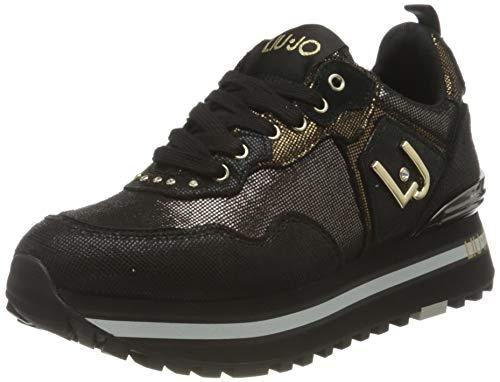 Liu Jo Shoes Damen LJWMX Sneaker, Black, 39 EU