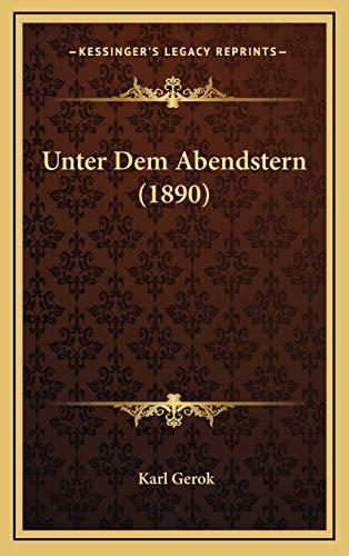 Unter Dem Abendstern (1890)