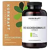 Kurkraft® Bockshornklee Kapseln Aktiviert (240 Stück) - Bio-Zertifiziert & Laborgeprüft - Vegan -...