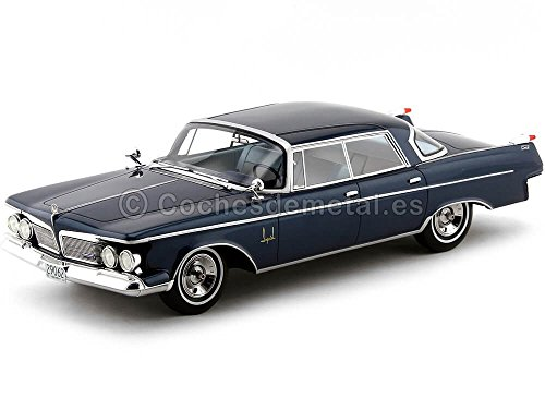 Imperial Crown Southampton 4-Door, metallic-blau, 1962, Modellauto, Fertigmodell, BoS-Models 1:18