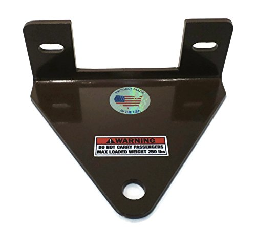 Quality Targets Grasshopper Mower Trailer Hitch 1//4 Thick /& 3//4 Hole!