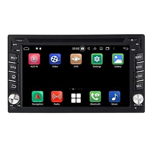 6.2 Pulgadas Pantalla Táctil Android 10.0 Autoradio DVD Reproductor para Hyundai Tucson(2004-2009), 4 GB RAM 32 GB ROM, Navegación GPS Bluetooth Dab+ Radio