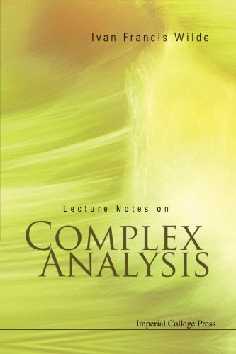 Download Lecture Notes On Complex Analysis 1860946437