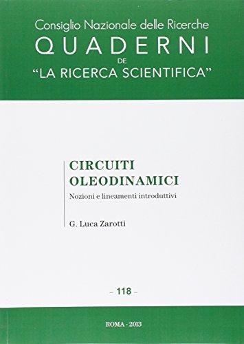 Circuiti oleodinamici. Nozioni e lineamenti introduttivi