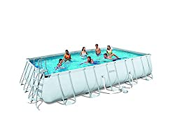 Bestway 56229GS Swimming Pool Komplettset 732 x 366 cm