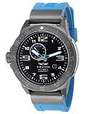 HÆMMER Navy Diver II | Blue Ocean | Orologio automatico da uomo in acciaio inox | Esclusivo orologio subacqueo con cinturino in gomma FKM | Impermeabile fino a 300 m | Vetro zaffiro antigraffio