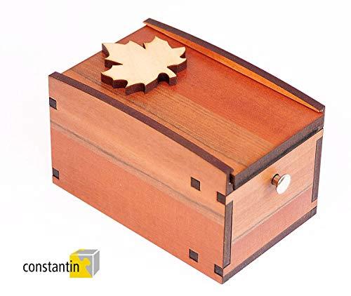 Logica Spiele Art. Radbox - Der Ahorn - Constantin Geheimbox - Schwierigkeitsgrad 4/6 Enden