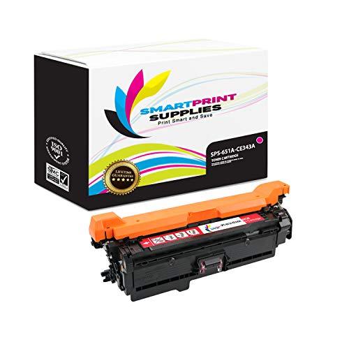 Smart Print Supplies Compatible 651A CE343A Magenta Toner Cartridge Replacement for HP Color Laserjet MFP M775 M775D, Enterprise 700 M775DN M775F M775Z+ Printers (16,000 Pages)