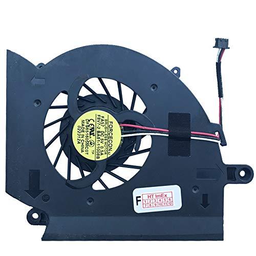 Price comparison product image Fan Cooler Compatible with Samsung RC530 S0B,  RC730-S03DE,  RF710-S02DE,  RC530 S0C,  RC730-S04DE,  RF710-S03DE,  RC530 S0D,  RC730-S05DE