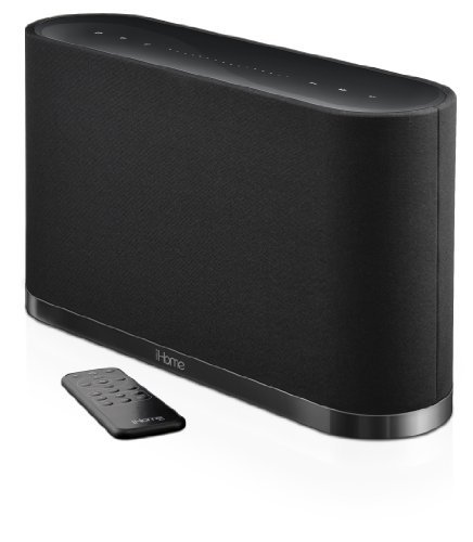 iHome iW1 AirPlay Wireless Stereo Speaker System with Rechargeable Battery