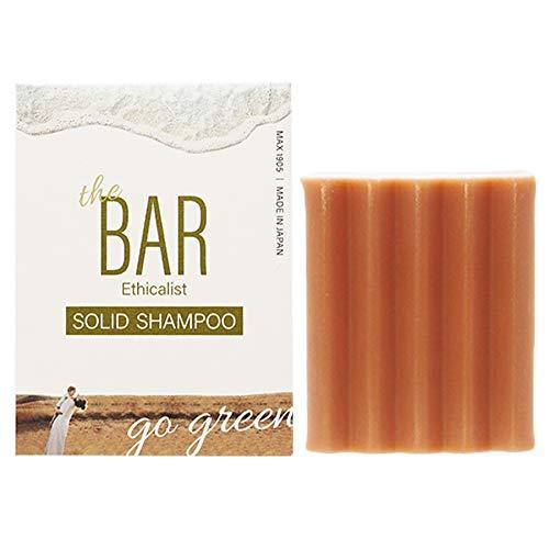 TheBAR 固形シャンプー 低刺激 泡立ち 機能性成分配合 高濃度 オーガニック ソリッド シャンプー フローラルピュアブーケの香り 日本製