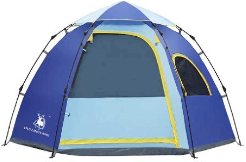 Amio Neues Outdoor-Zelt für den Außenbereich, 5-6 Personen, sechseckige Freizeit-Jurte Freizeit-Jurte Freizeit-Jurte für Campingzubehör B07Q9JBJKG  Sonderkauf fe6231