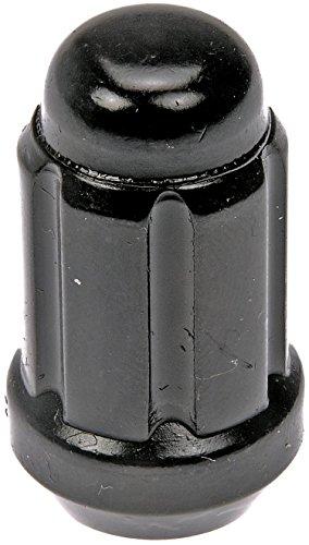 Dorman 711-256 – Juego de 20 tuercas de seguridad con llave, color negro