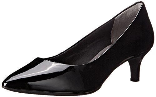 Rockport Women's Total Motion Kalila Pump Black Patent 9 M