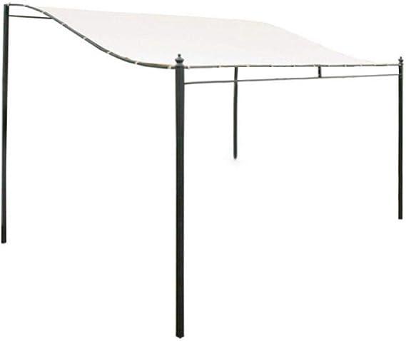 3x2.6m Techo Pérgola Lona 300D Reemplazo impermeable Cubierta superior del pabellón Pabellón Sombra del sol Cubierta del techo Jardín exterior ...