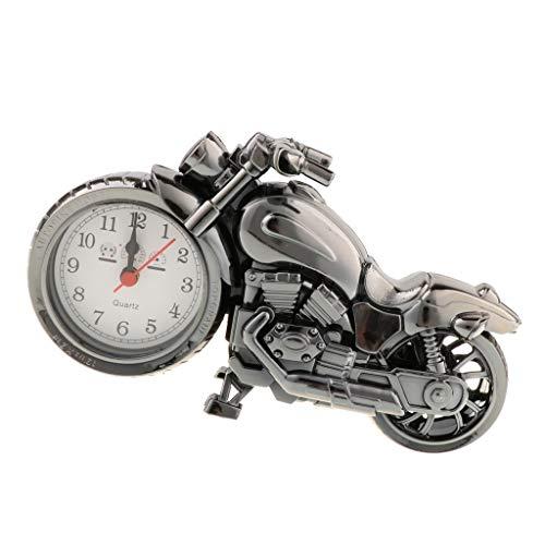 Sharplace Reloj Retro Ricksha Escultura Triciclo Jinrikisha Modelo Arte Decoración - Plata A