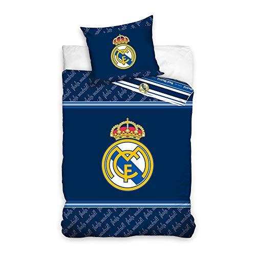 Ronaldo Housse DE Couette Parure DE LIT Real Madrid Club CR7