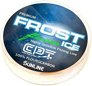 Clam Pro Tackle Frost Fluorocarbon - 4lb - Clear - 50 Yard