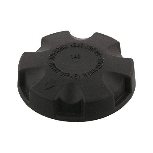 febi bilstein 36737 Kühlerverschlussdeckel / Kühlerdeckel belüftet , gelb / schwarz, Kunststoff, 1 Stück