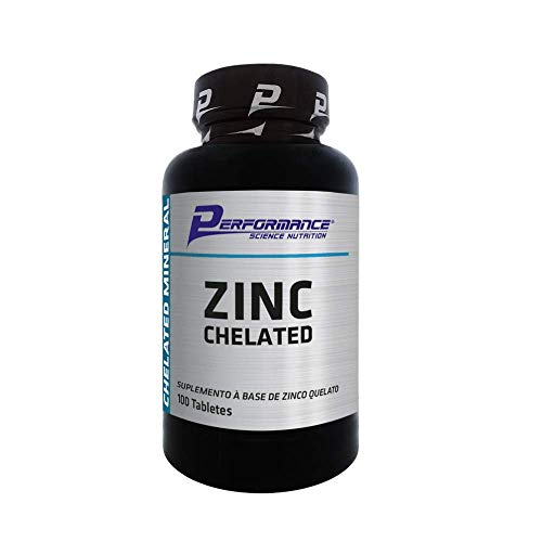 Zinc Chelated (100 Tabs), Performance Nutrition