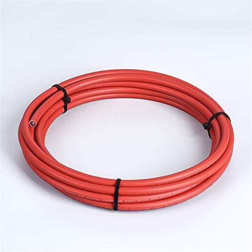 Pilang zxxin-Alambre de Cobre Alambre de Cable Solar 16/14/12/10/8/6/4 AWG AWG Red...