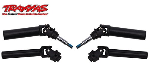 2 Pack Traxxas Heavy Duty Front Driveshaft Assembly Left/Right Ready to Install