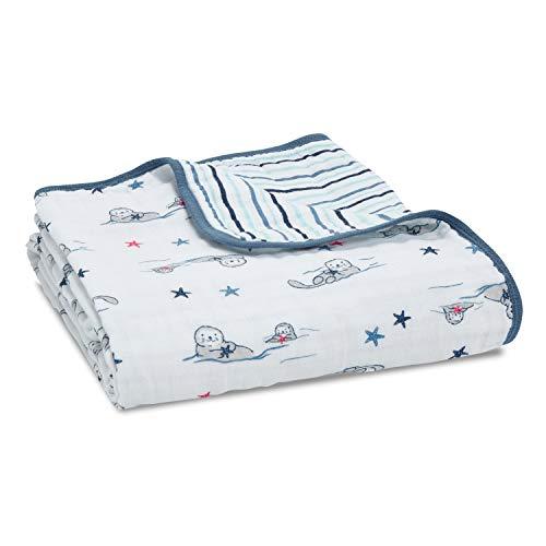 aden + anais essentials 100% Cotton Muslin Dream Blanket for Baby Girls &...