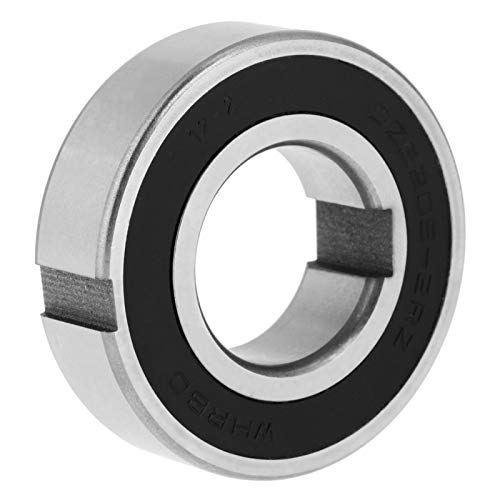 【𝐏𝐚𝐬𝐜𝐮𝐚】 Cojinete de embrague, CSK25PP Cojinete de arrastre Cojinete unidireccional Cojinete de rueda libre de doble chaveta 25 * 52 * 15 mm