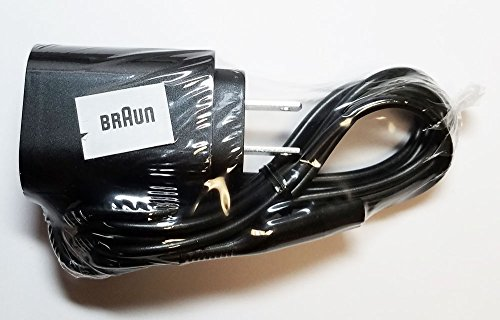 Braun Series 9 Power Cord for all Series 9, Cooltec and Motiontec shavers