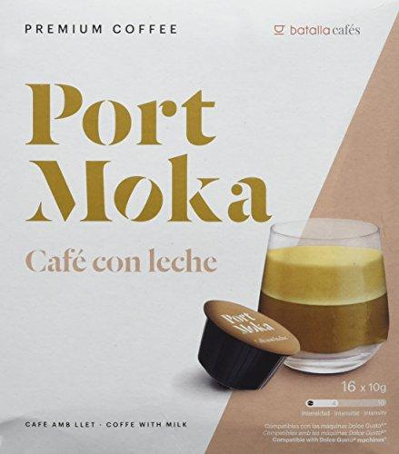 Port Moka Cápsulas de Café con Leche Compatibles Sistema Dolce Gusto -...
