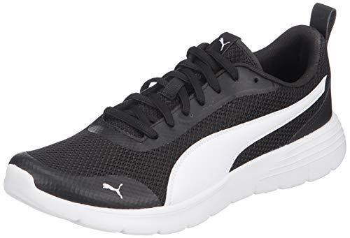 PUMA Unisex-Erwachsene Flex Renew Sneaker, Schwarz Weiß, 42 EU