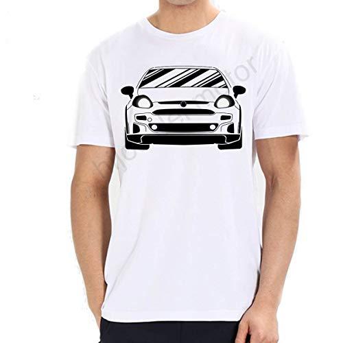 Camiseta Fiat Abarth Punto EVO 2011 (Blanco, S)