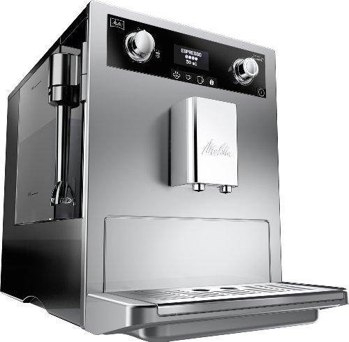 Melitta 965-101 - Cafetera automaticá (1.8L, 15 bar, 1500 W), con molinillo integrado, boquilla de vapor Perfect...