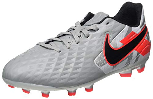 Nike Youth Soccer Tiempo Legend 8 Academy MG Cleats (Numeric_3) Grey