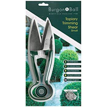Burgon /& Ball Sophie Conran Garden Topiary Shears with Brass Safety Lock