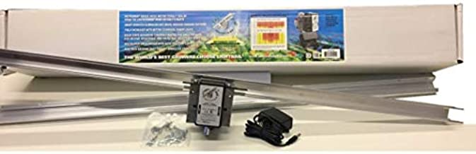 Light Rail 4.0 AdjustaDrive Kit Motor w Rail, Robotic Grow Light Mover Solidly Made in The USA