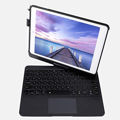 Goshyda Keyboard Case, Portable 360 Degree Rotating Case + 7 Colors Backlit Wireless Bluetooth Keyboard for iPad Air2 Pro 9.7