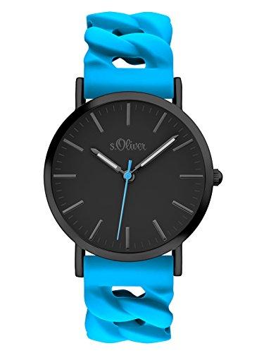 s.Oliver Unisex Erwachsene-Armbanduhr SO-3292-PQ