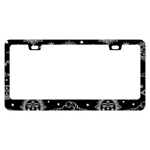 stars license plate frame - 6