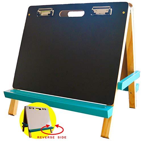 Creatology Table Top Easel, Wood (Dry Erase/ Chalk Board)