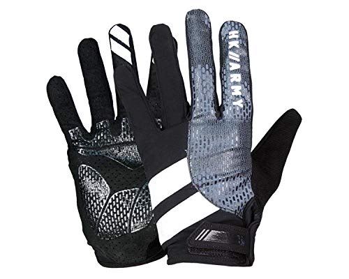 HK Army Paintball Handschuhe Freeline Gloves Vollfinger Charcoal grau, Größe:L