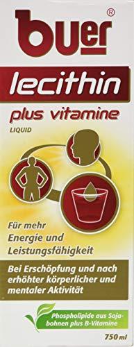 Buer Lecithin Plus Vitamine Liquid, 1er Pack (1 x 750 ml)
