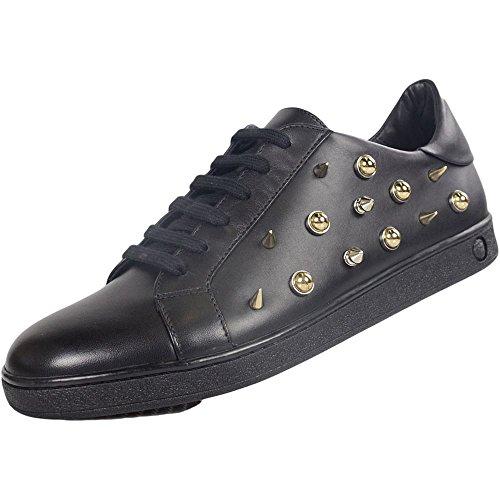 Versace, Damen Stiefel & Stiefeletten Schwarz Schwarz, Schwarz - Schwarz - Größe: 41 EU