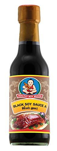 HEALTHY BOY Salsa De Soja, Oscura, 1 unidad x 280 g/250 ml